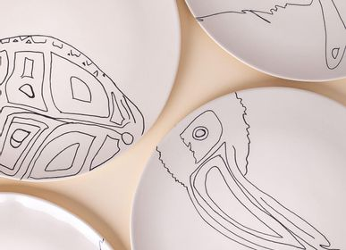 Formal plates - Plates Reina del Darién - ETHIC & TROPIC CORINNE BALLY