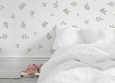 Other wall decoration - Watercolor irregular leaves wall sticker - TRESXICS