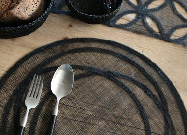 Placemats - 100% abaca underplates and placemats - FIORIRA UN GIARDINO SRL