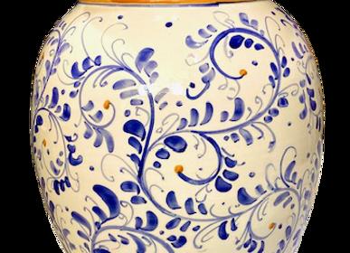 Vases - Magnifique porte-parapluie en céramique peint à la main dans le style Vietri - CERASELLA CERAMICHE