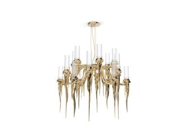 Hanging lights - Wax Chandelier - LUXXU MODERN DESIGN & LIVING