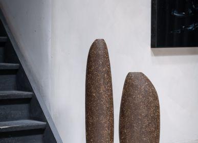 Decorative objects - Vaso escultura liso - GARDECO