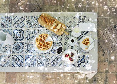Linge de table textile - Nappe Maiolica  - COLORI DEL SOLE