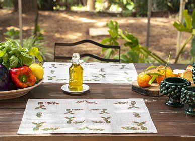 Table linen - tablecloth set fichidindia - COLORI DEL SOLE