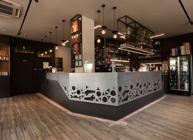 Quincaillerie d'art revêtement - Ferronnerie décorative Caffè della Rocchetta - NESTART SRL