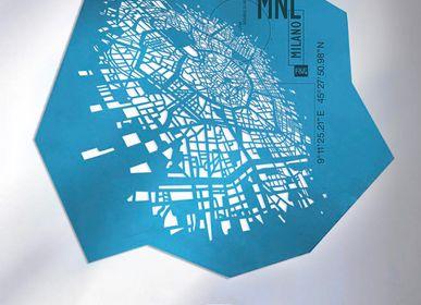 Panneaux séparateurs - Milan pro | H 152 - L 144 cm | Édition limitée - Décoration murale - FRANK&FRANK