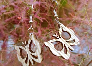 Jewelry - Earrings made of Palm trees leaves - ARECABIO