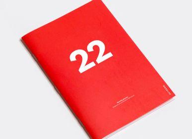 Papeterie bureau - PLANIFICATEUR MENSUEL 2022 (tailles A4, A5 et A6) - OCTAGON DESIGN