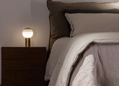 Bed linens - Duvet Cover linen/cotton Stone-Castell - MIKMAX BARCELONA