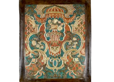 Other wall decoration - Leather tapestry Lirio - MERYAN