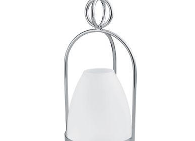 Goldsmithing - Latitude - Hurricane lamp (glass lampshade) - ERCUIS