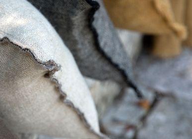 "Fabric cushions - Linen cushions ""Ancient"" - LISSOY"