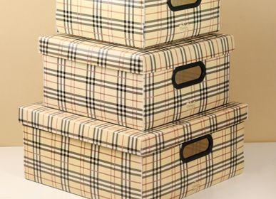 Caskets and boxes - STORAGE BOX GALEX, MINIMAL, PED DE POULE, FOLIAGE ORGANIZER - DELLO