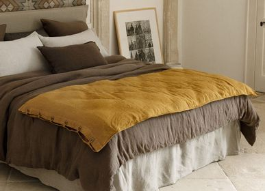 Bed linens - Linen Quilts - LISSOY