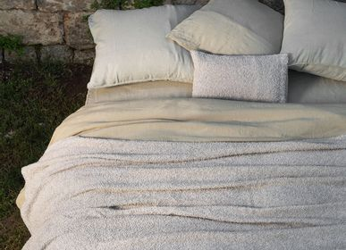 Throw blankets - Plaids buckle 100% linen - LISSOY