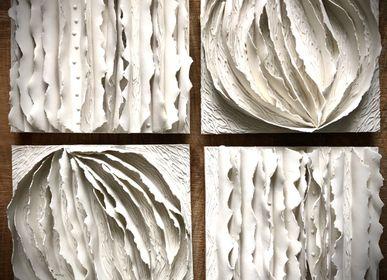 Tableaux - Collection Ecorce papier porcelaine - GUENAELLE GRASSI