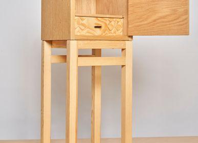 Night tables - Cabinet CUBE - VAN DEN HEEDE-FURNITURE-ART-DESIGN