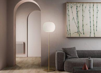 Decorative objects - Kushi XL floor lamp - KUNDALINI