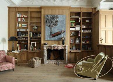 Bookshelves - Libraries - our gallery - BY MH - MARTIN HAUSNER, GASTRO INTERIEUR