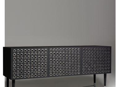 Decorative objects - Kuro Modern Sideboard - LARISSA BATISTA