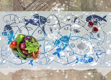 Kitchen linens - Tonnara table cloth - COLORI DEL SOLE