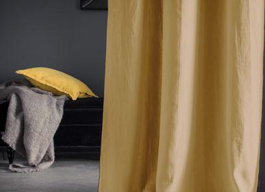 Curtains and window coverings - Autour du lin  - BLANC CERISE