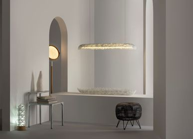Decorative objects - PRADO FILIPINO ARTISANS Hanging Cloud Light  - KINDRED DESIGN COLLECTIVE HOME