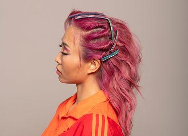 Hair accessories - Bebop Suede and Swarovski® Crystals - VALÉRIE VALENTINE