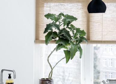 Rideaux et voilages - Store enrouleur végétal brun - COLOR & CO