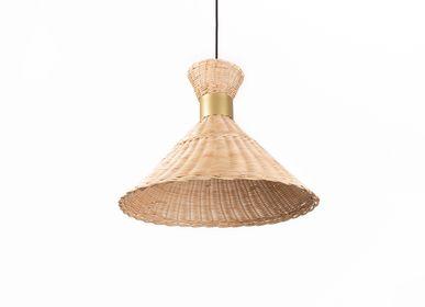 Autres objets connectés - Lampe en osier - THEA