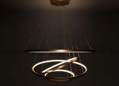 Ceiling lights - Gateway Suspension Lamp - PORUS STUDIO