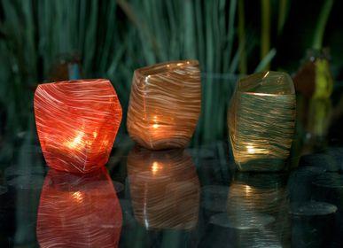 Objets de décoration - Vase DORIAN en pâte de verre - ASIATIDES