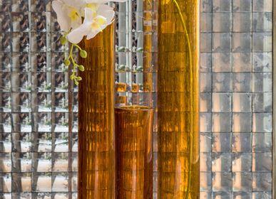 Vases - Vase en verre jaune - ASIATIDES
