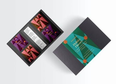 Chocolate - Holiday Gift Pack 4 bars - GOODIO