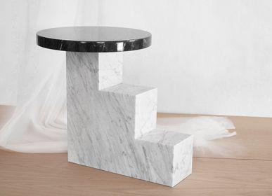 Tables basses - Table de salon ESCALIER 1-2-3 - VAN DEN HEEDE-FURNITURE-ART-DESIGN
