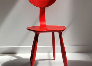 Office seating - Ash Daiku Chair Tinted by Victoria Magniant - VICTORIA MAGNIANT POUR GALERIE V