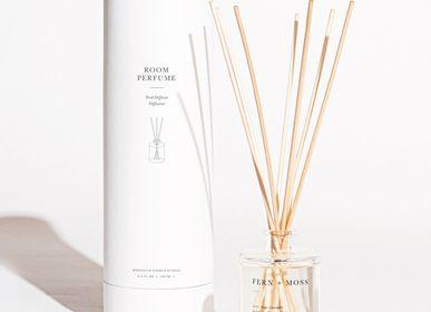 Diffuseurs de parfums - Reed Diffuseur Fern + Moss Gold  - BROOKLYN CANDLE STUDIO