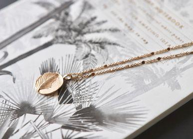 Bijoux - Collier médaille Palmier - YLUME