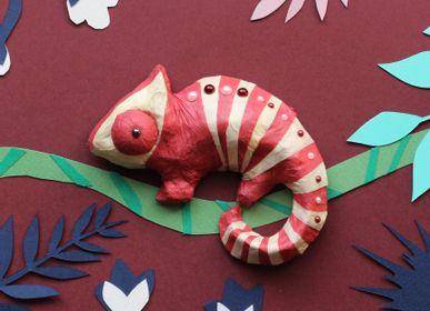 Objets de décoration - Kit créatif et éducatif - Reptiles - Jouets DIY Enfants - Loisirs créatifs - L'ATELIER IMAGINAIRE
