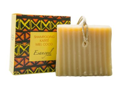 Soaps - Natural Handmade Extra Soft Solid Shampoo with Shea Butter, Honey and Coconut Milk - Nourishing - 120g - L'ATELIER DES CREATEURS