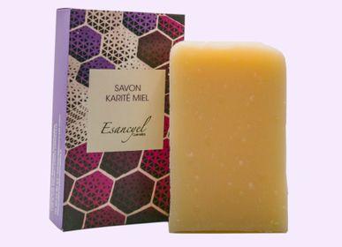 Savons - Savon extra-doux artisanal au beurre de karité et au miel - 100g - L'ATELIER DES CREATEURS
