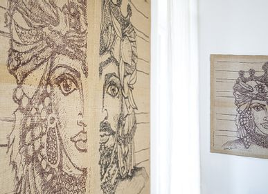 Other wall decoration - Moro and Dama Tapestry - COLORI DEL SOLE