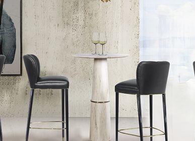 Chairs for hospitalities & contracts - DALYAN BAR CHAIR - BRABBU