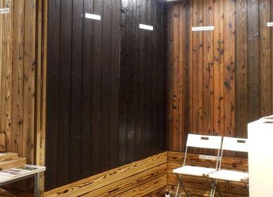 Other wall decoration - Yakisugi (Burnt Cedar Boards) - JAPAN WOOD  EXPORT ASSOCIATION