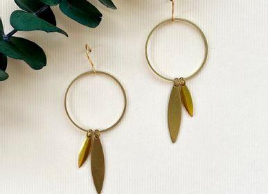 Jewelry - Brass earrings.  - NAO JEWELS