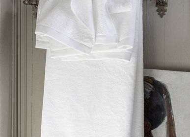 Bath towels - Essentiel Blanc - Towel and wash glove - ALEXANDRE TURPAULT