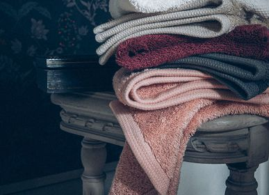 Bath towels - Essentiel Graphite - Towel and wash glove - ALEXANDRE TURPAULT