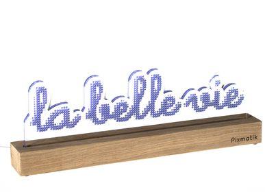 """Objets design - LAMPE D'AMBIANCE DESIGN """"LA BELLE VIE"""" - PIXMATIK"""