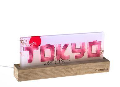 "Objets design - LAMPE D'AMBIANCE DESIGN ""TOKYO"" - PIXMATIK"