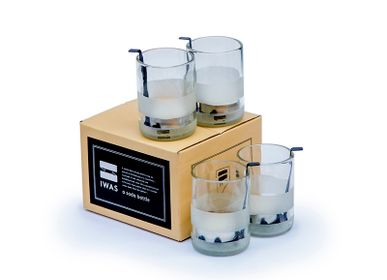 """Candlesticks and candle holders - Holder Tea Lights """"Clear"""" - IWAS PRODUCTS"""